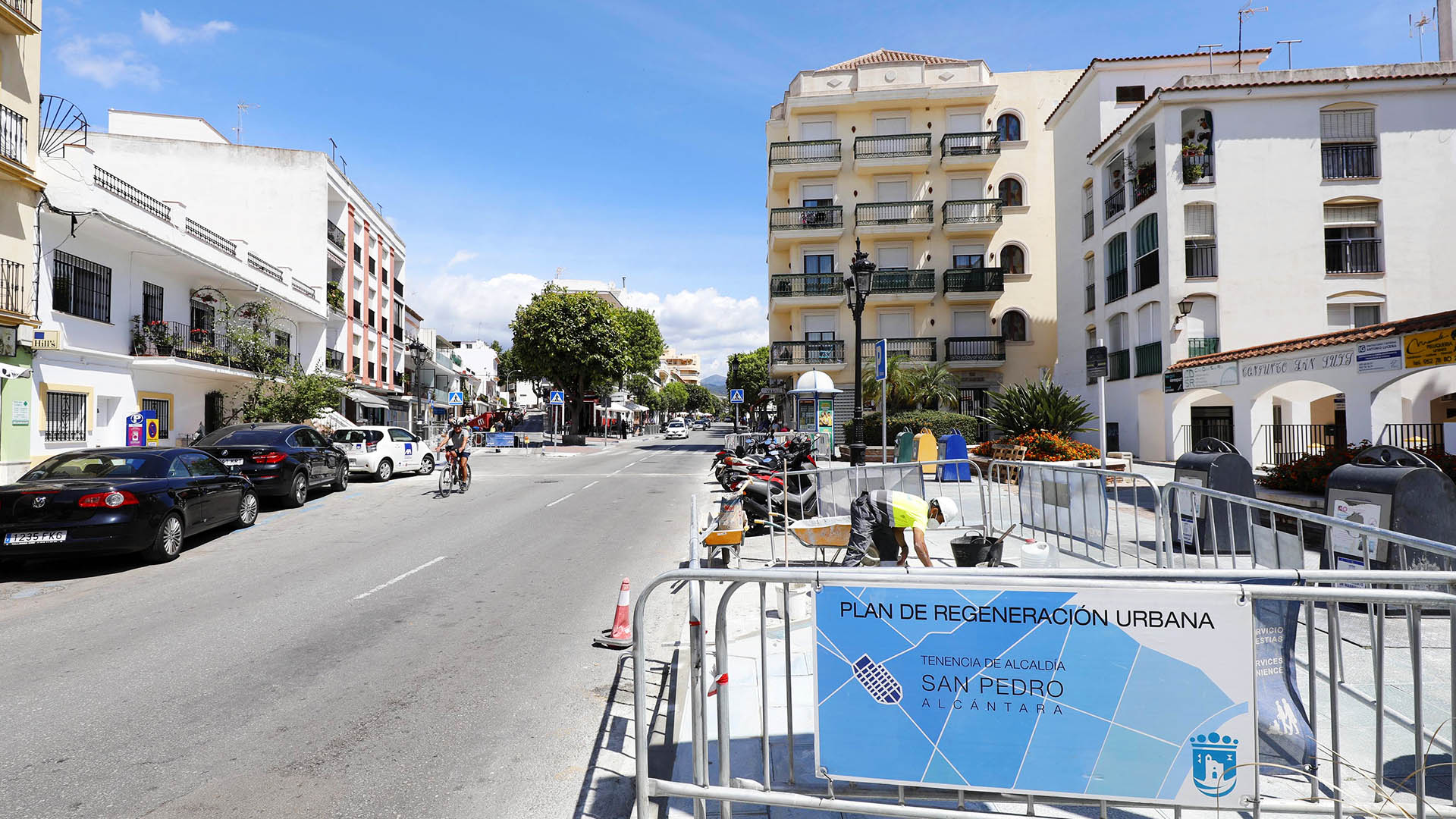 Entre otras, Avenida Pablo Ruiz Picasso y Calle Lagasca, renovarán su asfalto la próxima semana