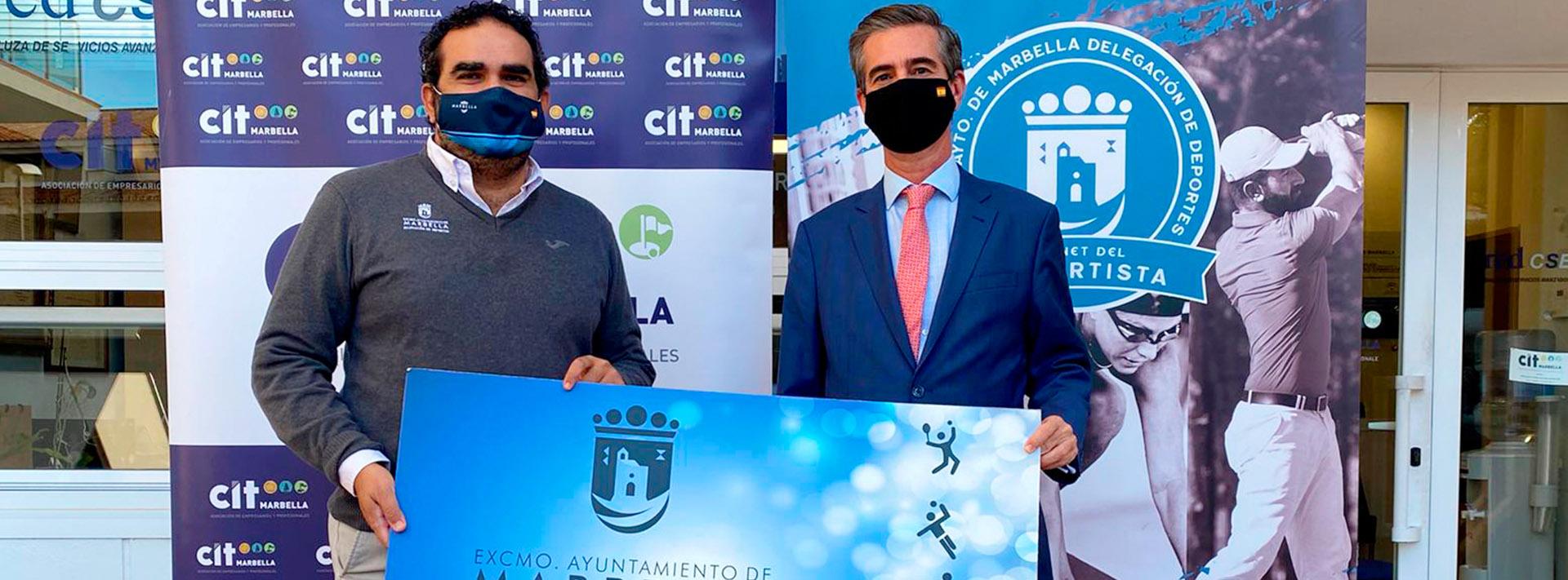 Ayuntamiento y CIT promocionan el carnet del deportista